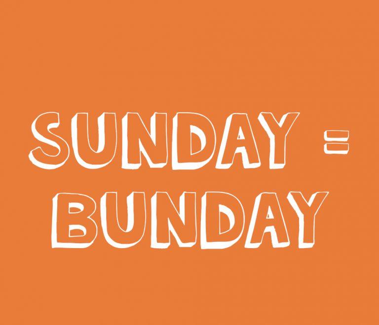 Sunday = Bunday