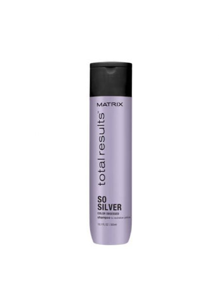 Total Results So Silver Shampoo 300ml